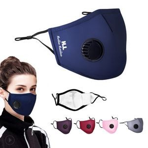 Dustproof Anti-Fog PM2.5 Face Mask Mouth Cover with Breather Valve
